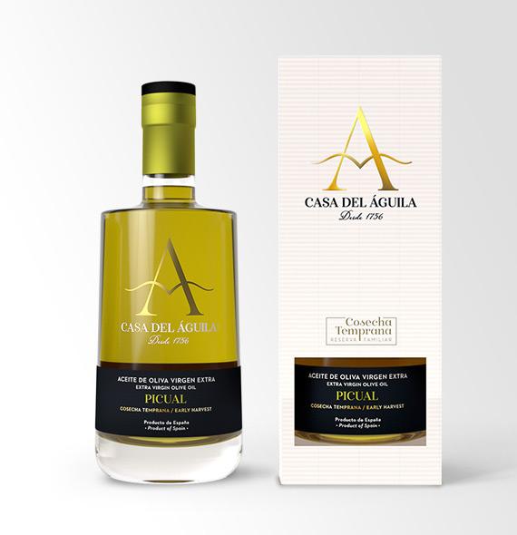 Aceite de Oliva Virgen Extra de calidad Premium en Edición Limitada. Un universo de sabores de la tierra
