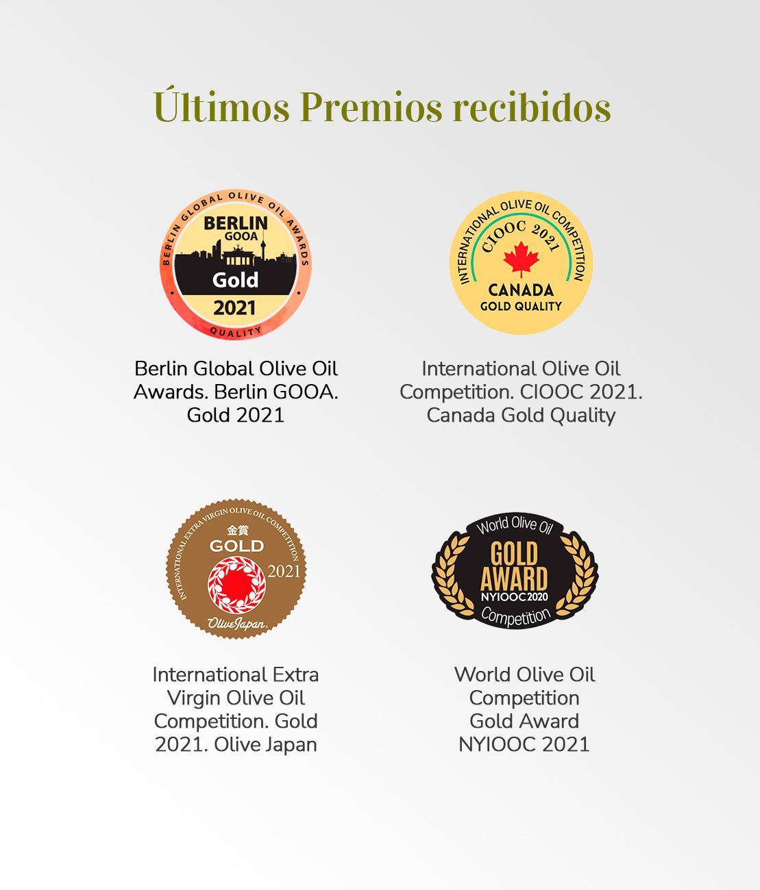 ultimos premios recibidos de Pack Súper Premium